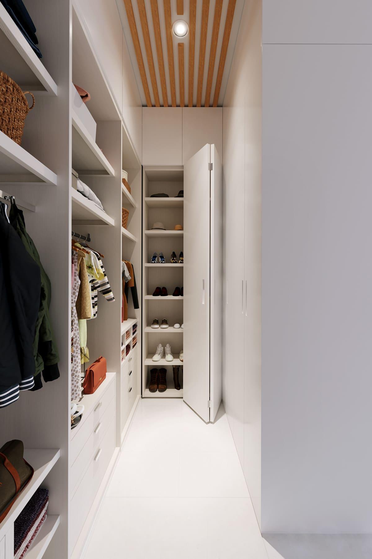 design d'intérieur d'un appartement à la mode photo 14