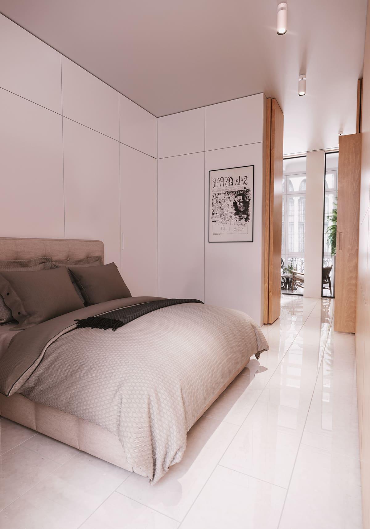 design d'intérieur d'un appartement à la mode photo 13