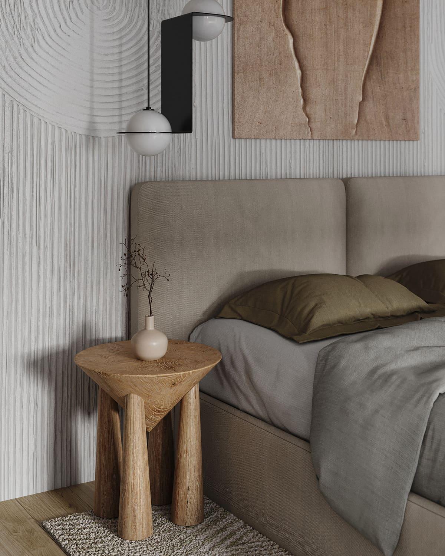 design d'intérieur d'un appartement à la mode photo 29