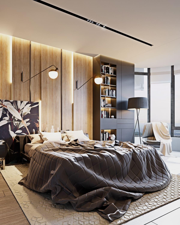 design d'intérieur d'un appartement à la mode photo 23