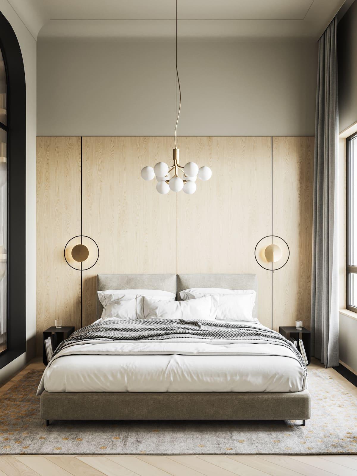 design d'intérieur d'un appartement à la mode photo 25
