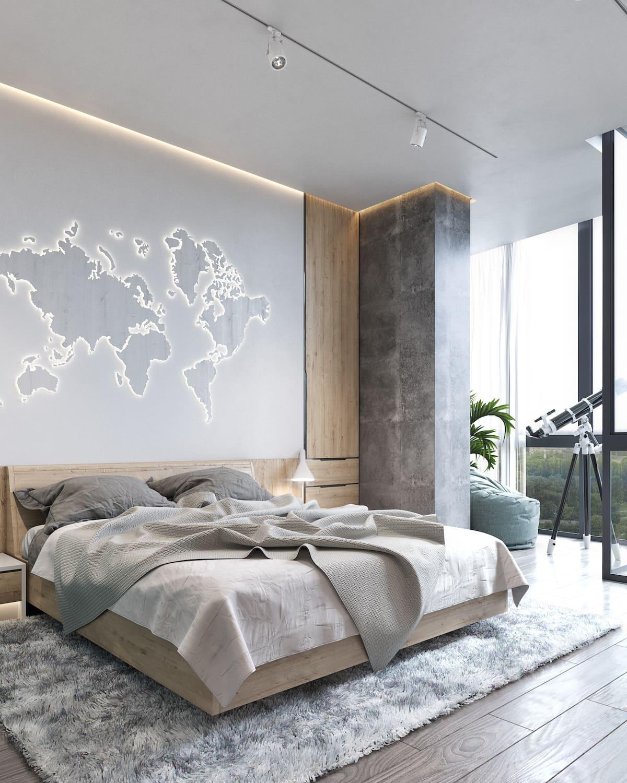 design d'intérieur d'un appartement à la mode photo 22