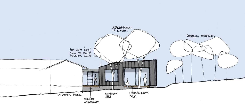 plan-d-élévation-de-maison-pavillon-contemporain
