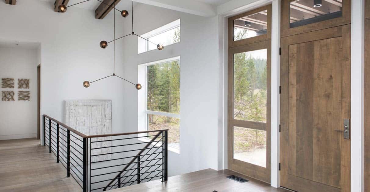 entrée-maison-alpine-moderne