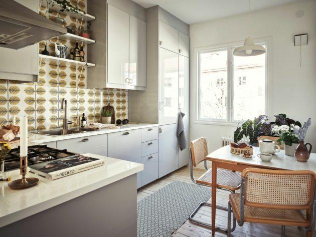 Cuisine moderne et rétro que vous voudrez avoir dans votre maison