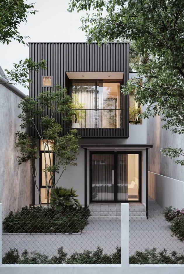 Caractéristiques des façades modernes pour s'inspirer