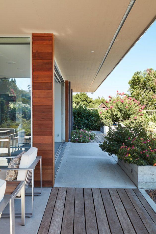 Sonoma Pool House et Guest House par Klopf Architecture en Californie, USA