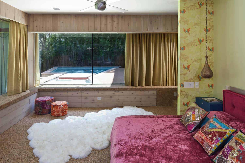 Mid-Century-modern-chambre