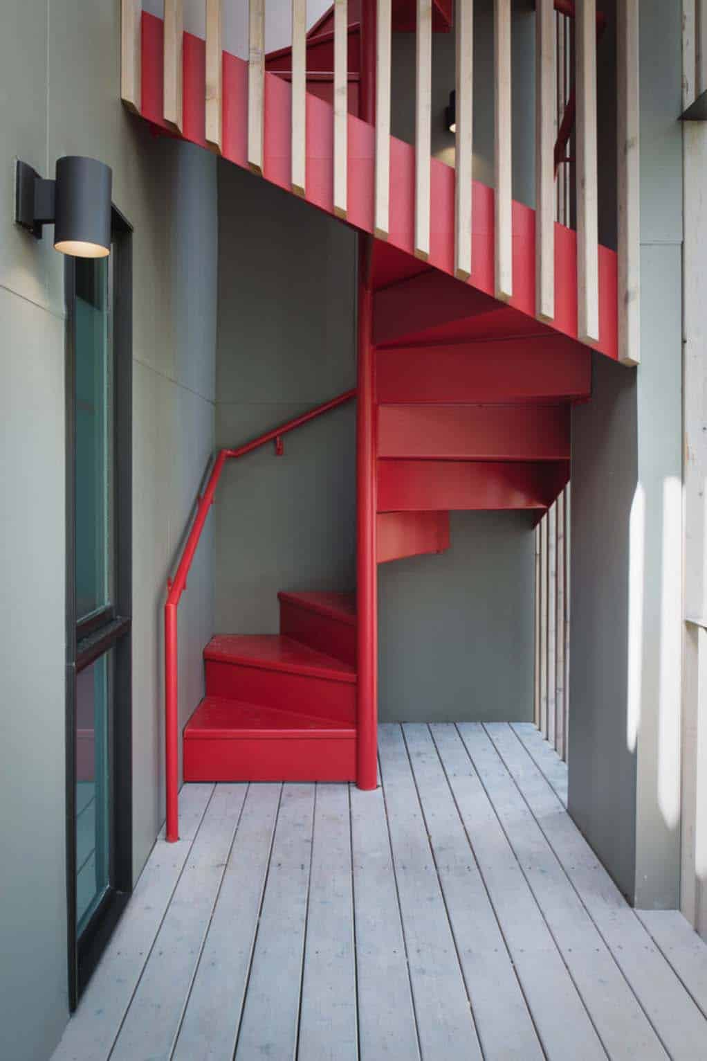 escalier-en-colimaçon-moderne-mi-siècle
