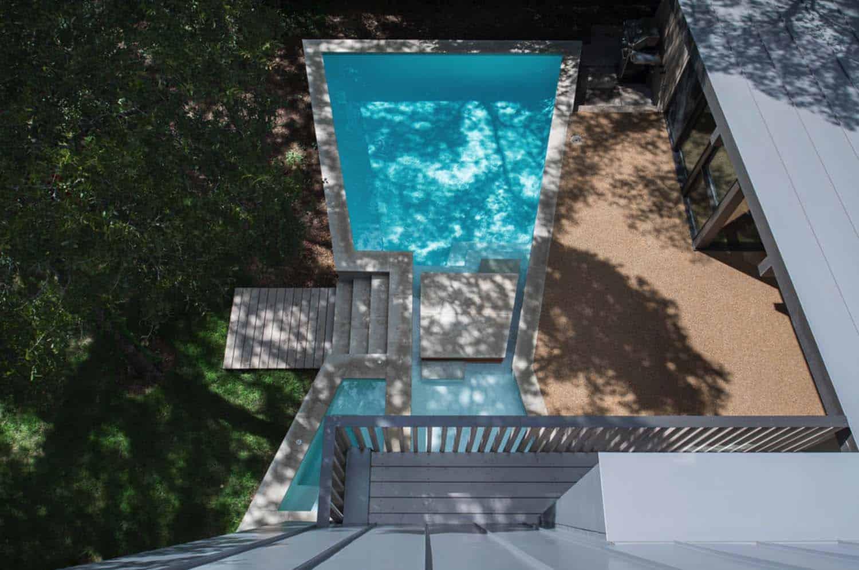 Mid-Century-moderne-piscine