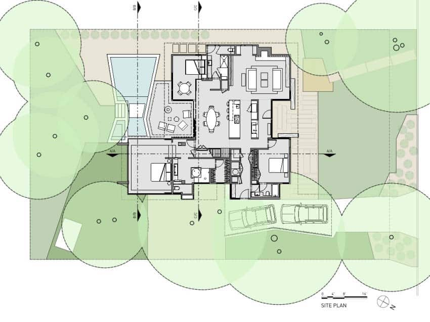 Mid-Century-modern-site-plan