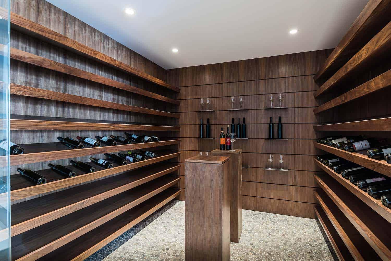 cave à vin moderne