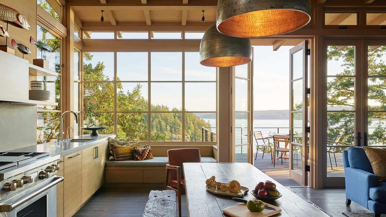 cuisine de style plage