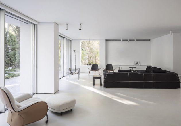 Nish House par Paritzki & Liani Architects à Ramat Hasharon, Israël