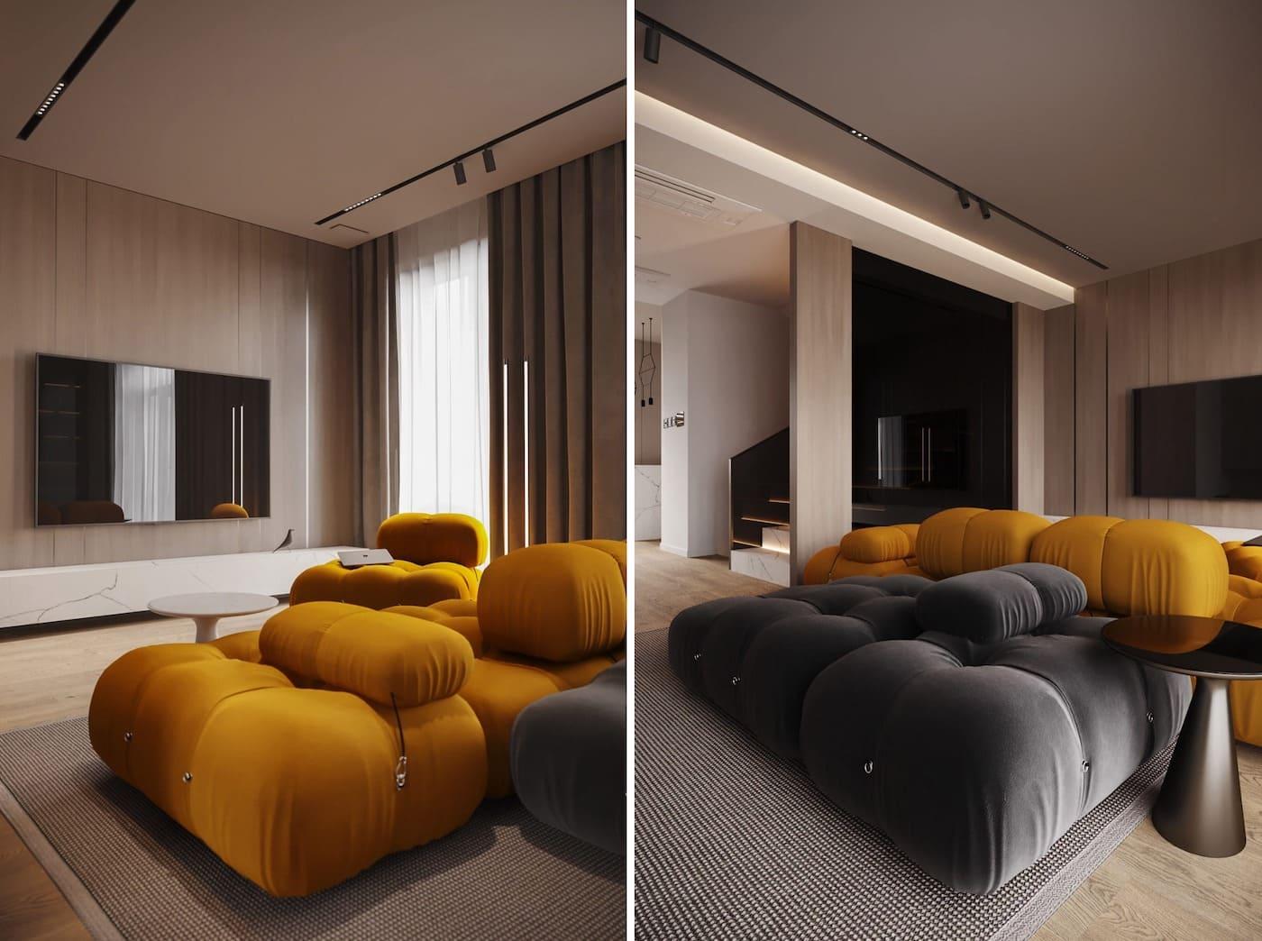 design d'intérieur d'un appartement à la mode photo 4