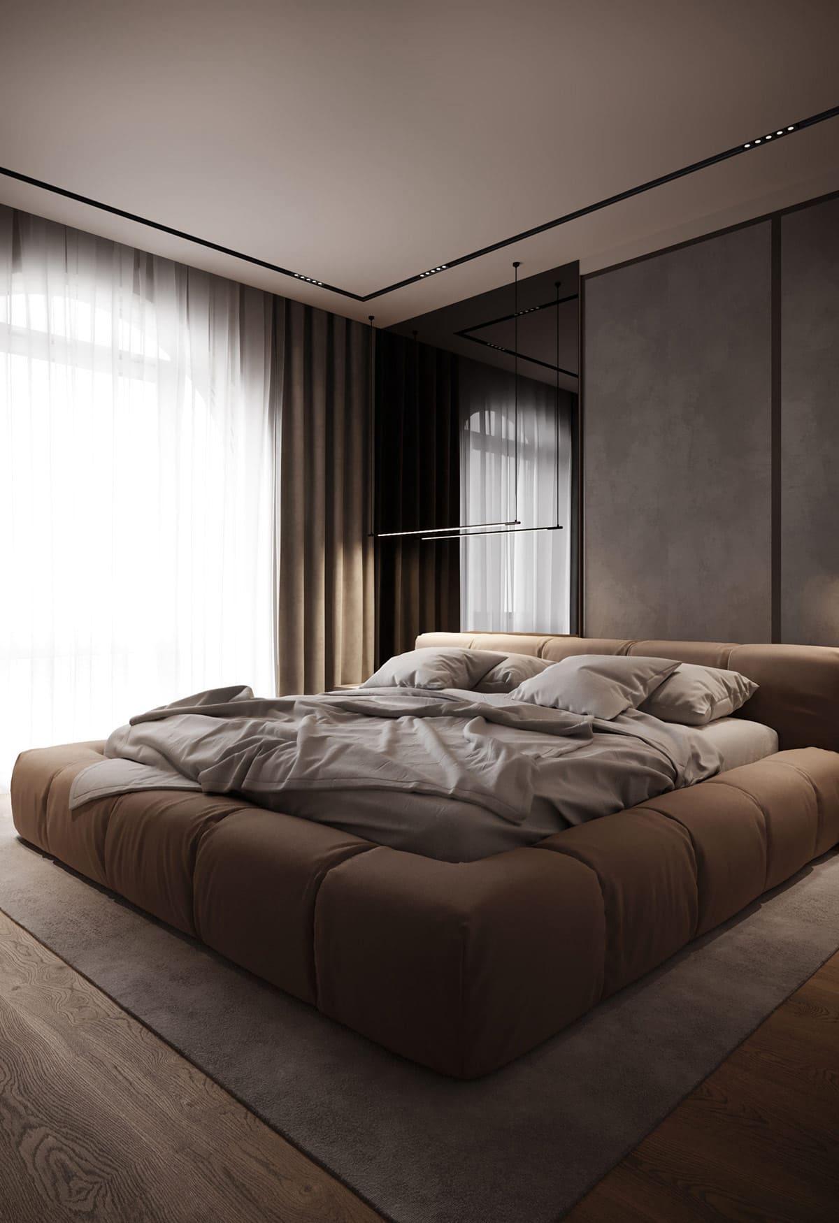 design d'intérieur d'un appartement à la mode photo 5