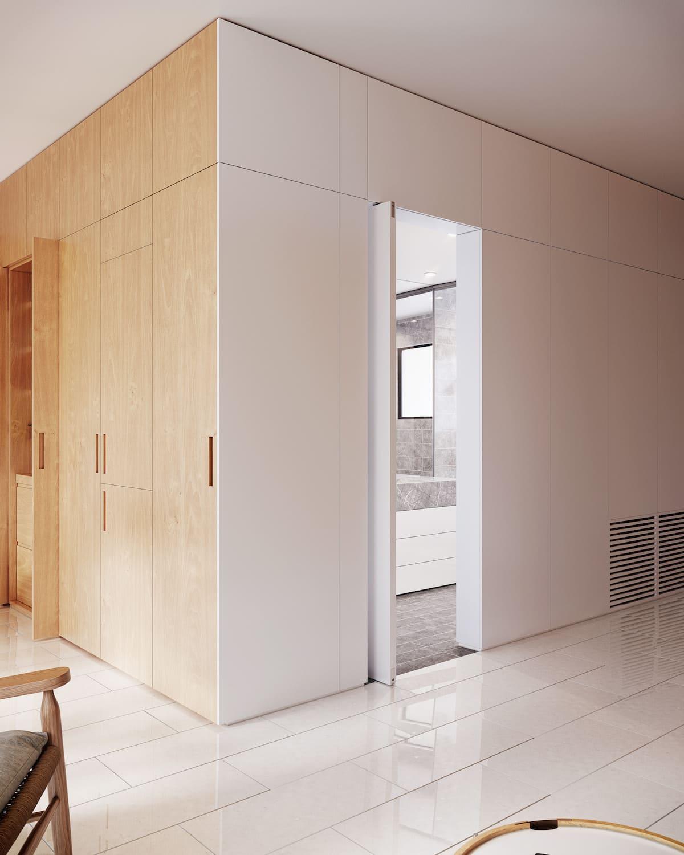 design d'intérieur d'un appartement à la mode photo 12