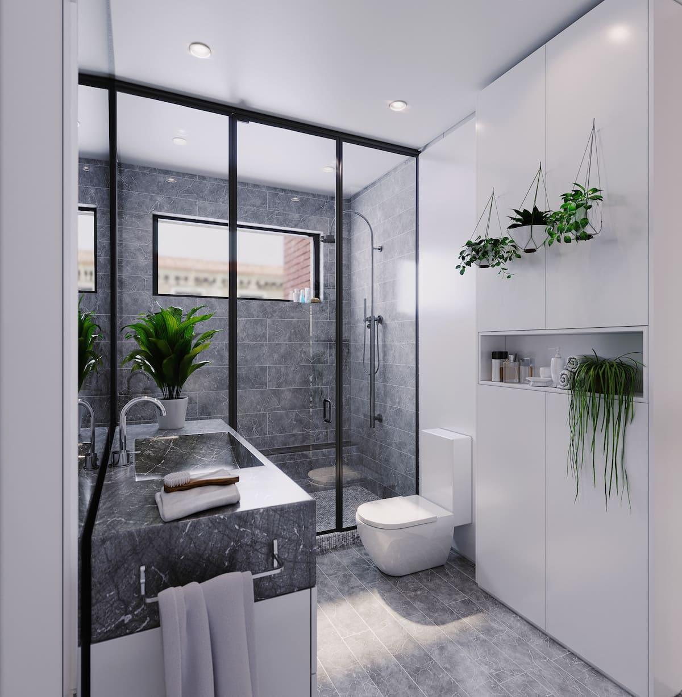 design d'intérieur d'un appartement à la mode photo 15