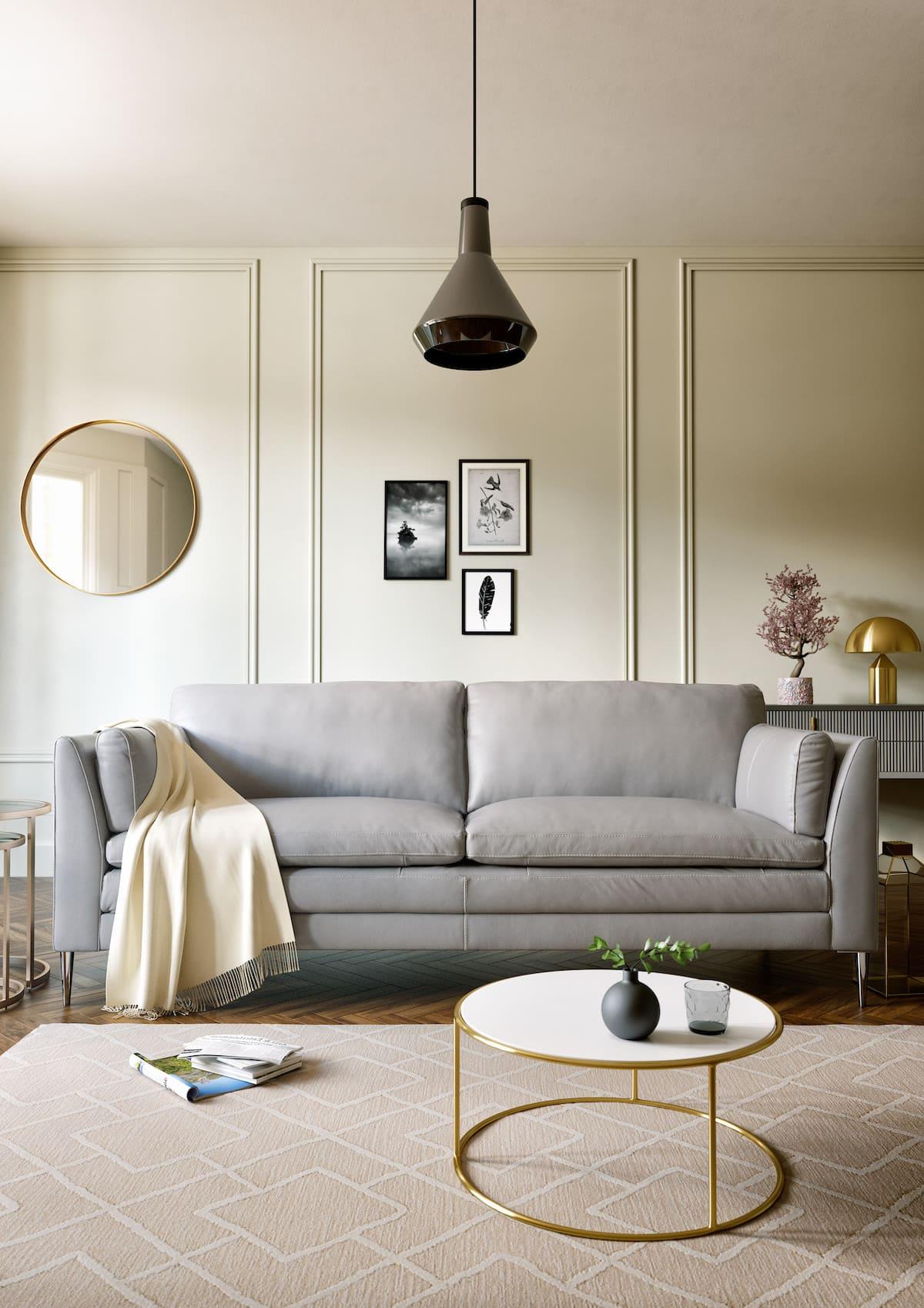 design d'intérieur d'un appartement à la mode photo 16