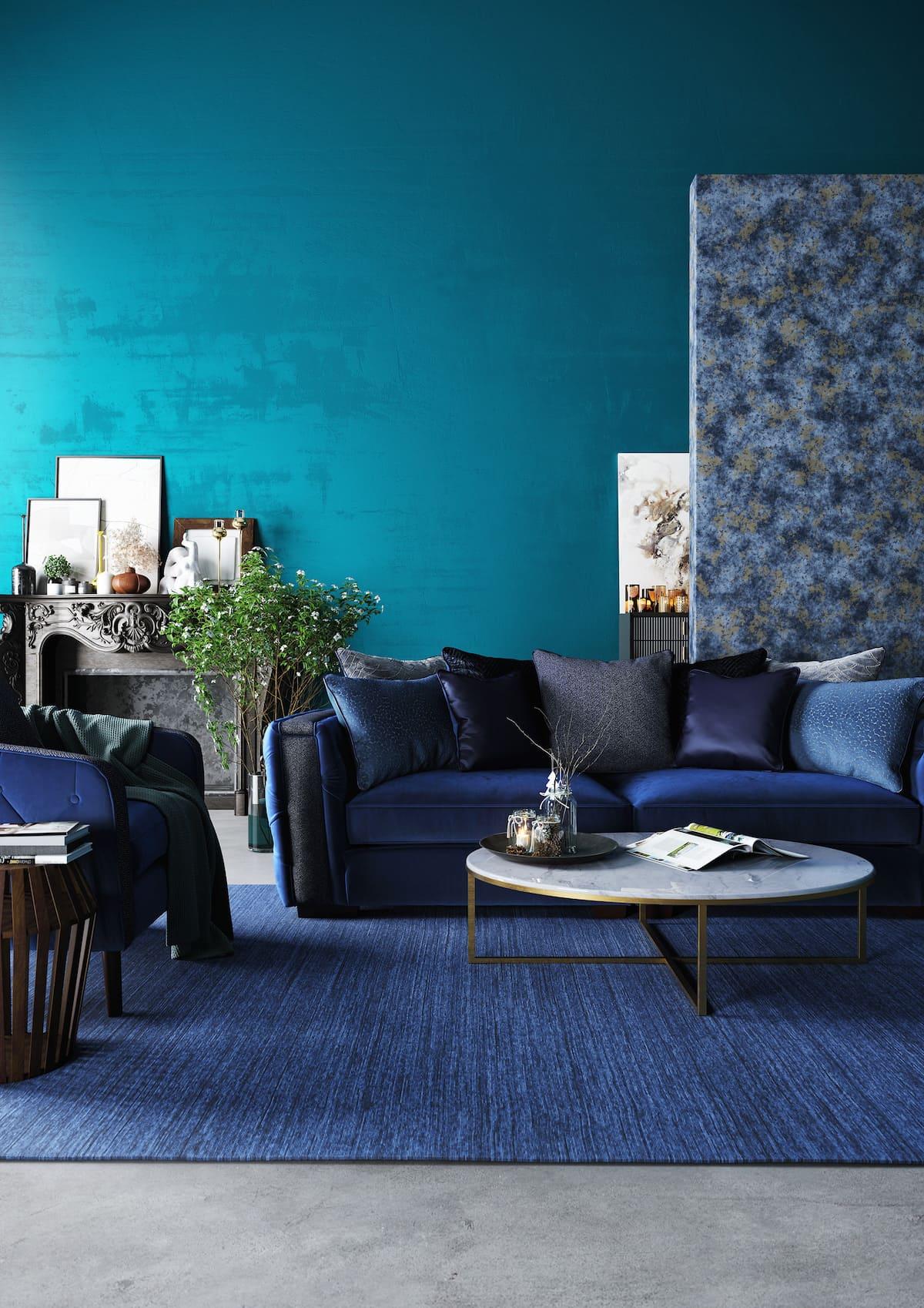 design d'intérieur d'un appartement à la mode photo 19