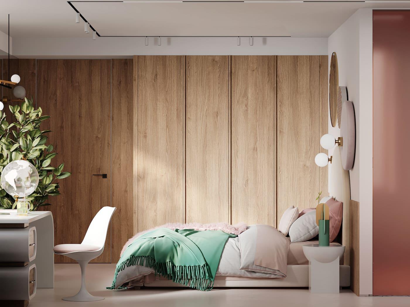 design d'intérieur d'un appartement à la mode photo 101