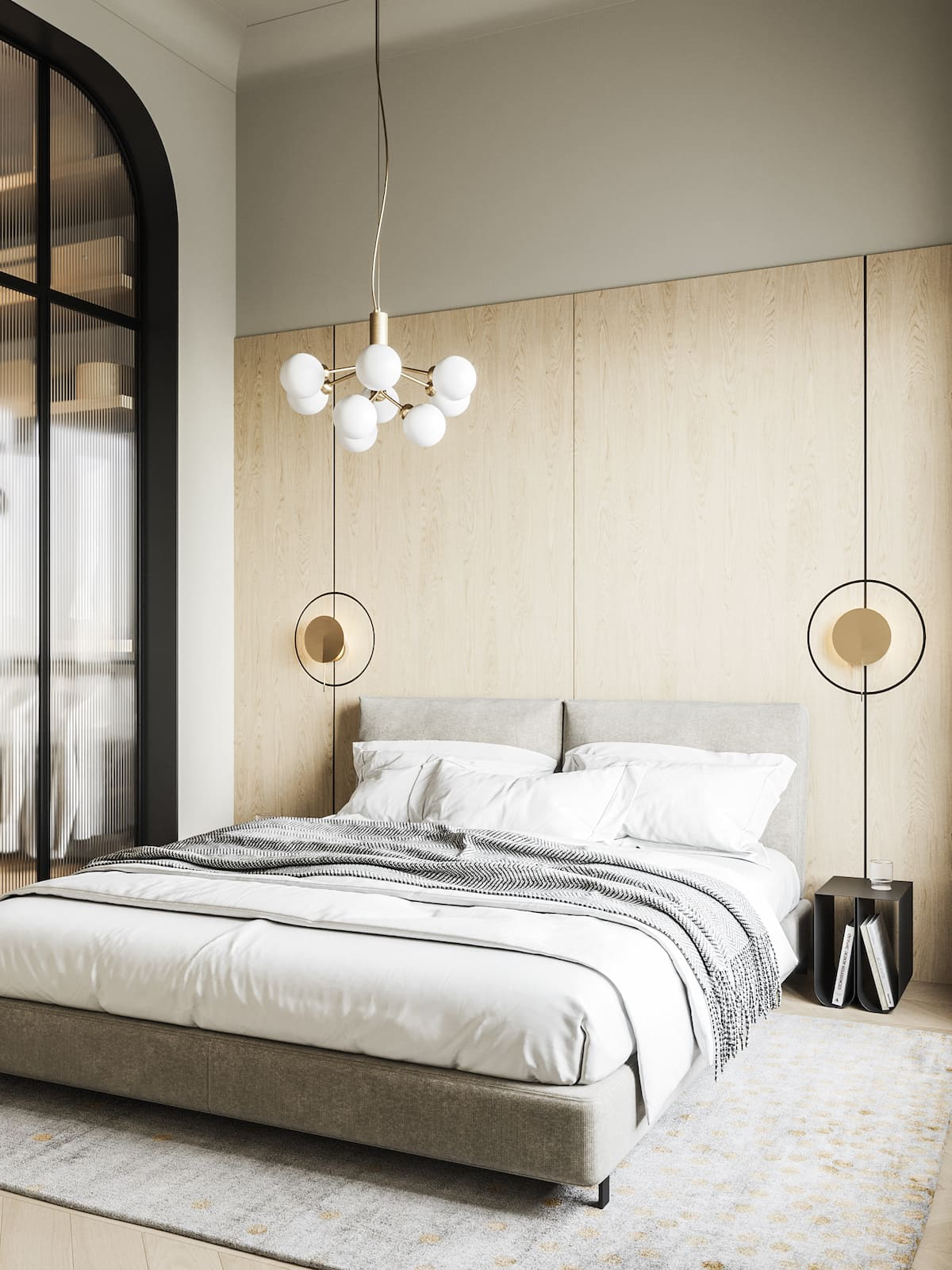 design d'intérieur d'un appartement à la mode photo 28