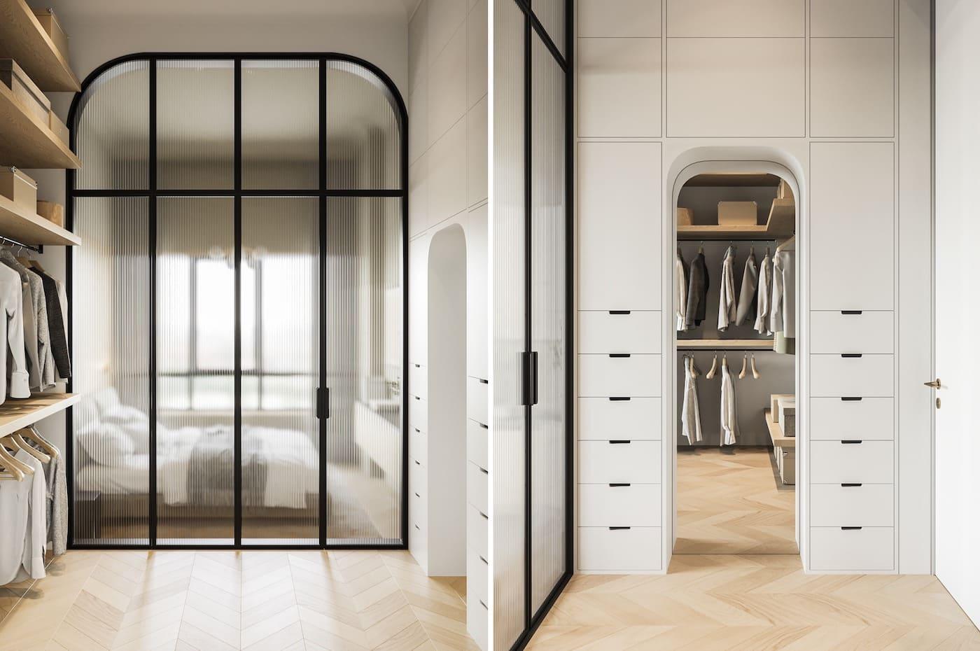 design d'intérieur d'un appartement à la mode photo 30