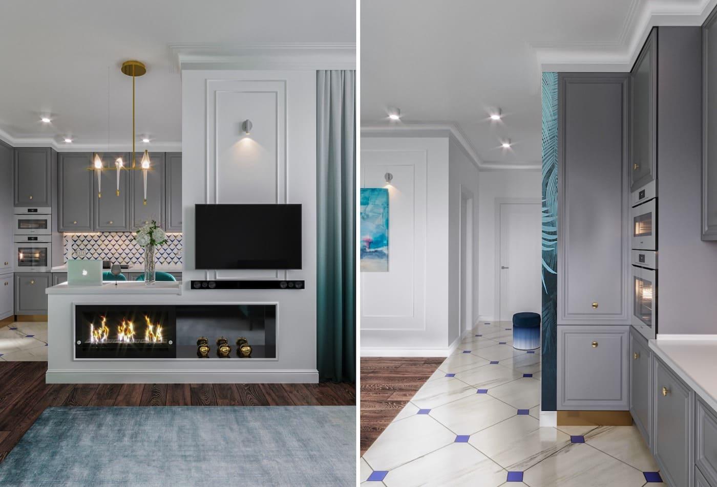 design d'intérieur d'un appartement à la mode photo 33
