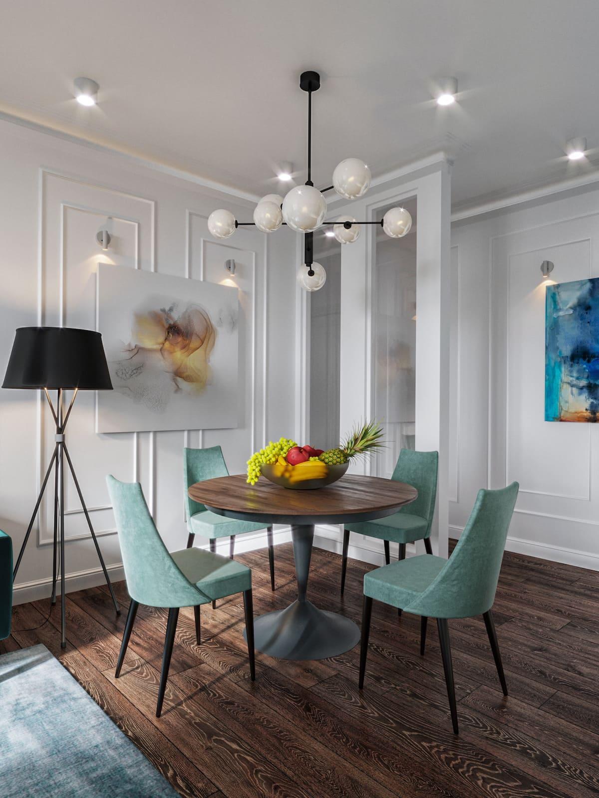 design d'intérieur d'un appartement à la mode photo 34