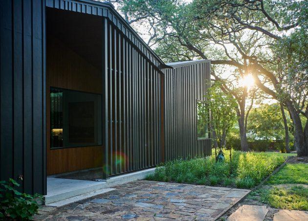 Ridgeview House par THOUGHTBARN à Austin, Texas