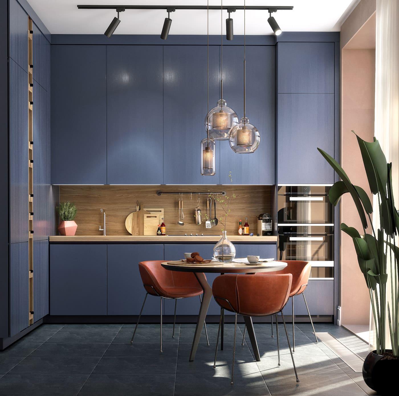 conception d'un appartement d'une pièce photo 12