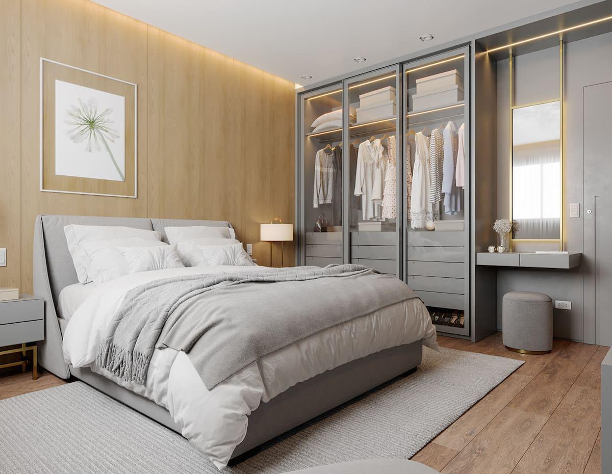 conception d'un appartement d'une pièce photo 20