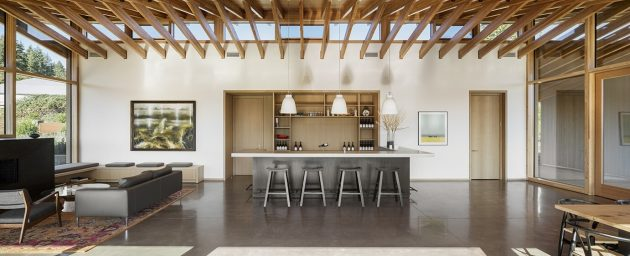 L'Angolo Estate par LEVER Architecture à Newberg, Oregon