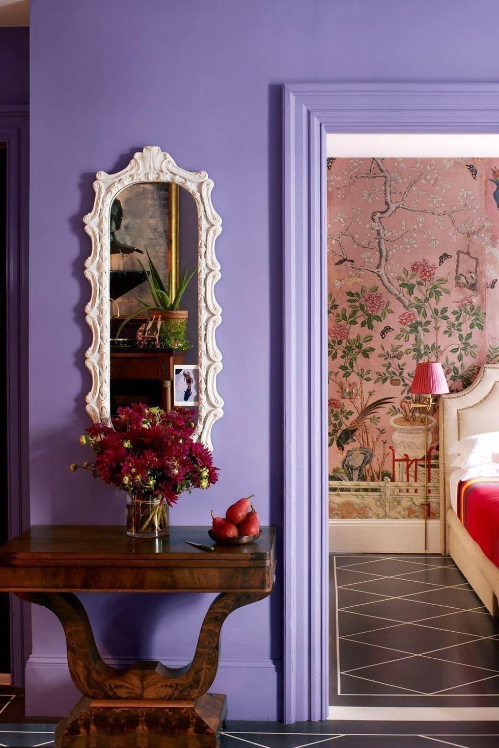 couleur violette à l'intérieur photo 5
