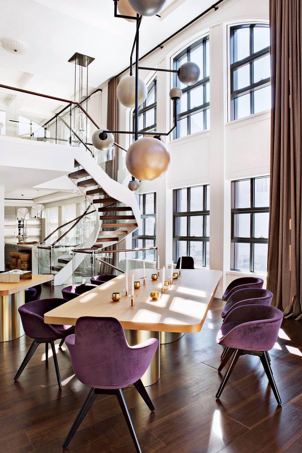 couleur violette à l'intérieur photo 3