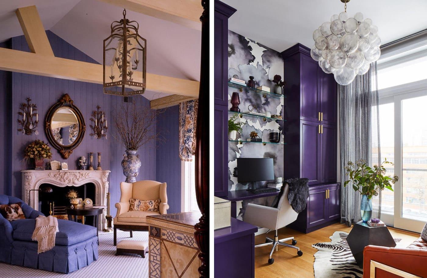 couleur violette à l'intérieur photo 18