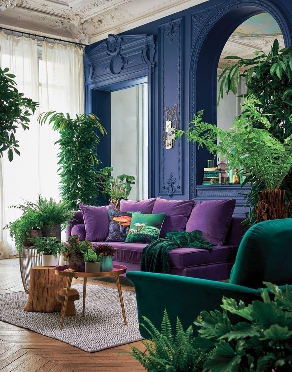 couleur violette à l'intérieur photo 9