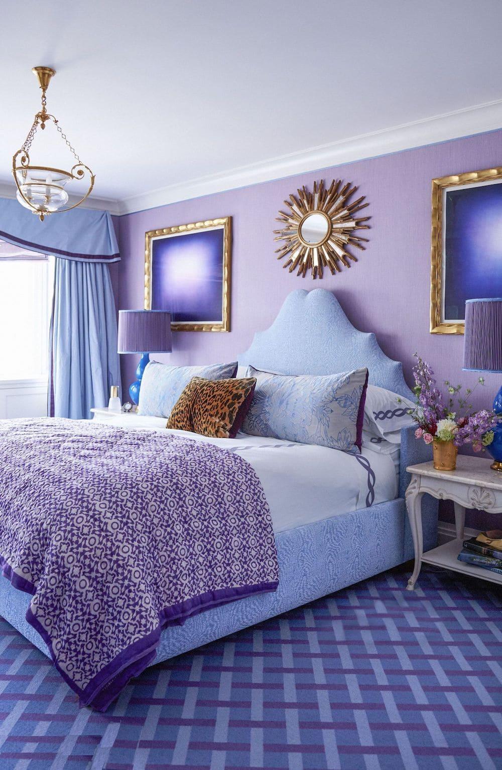 couleur violette à l'intérieur photo 11