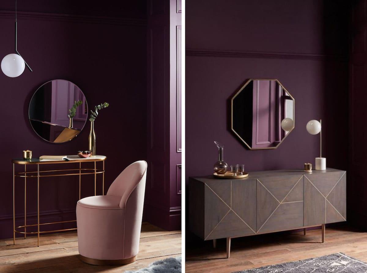 couleur violette à l'intérieur photo 17