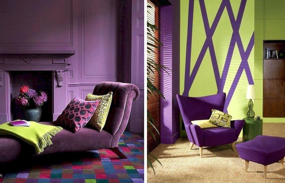 couleur violette à l'intérieur photo 6
