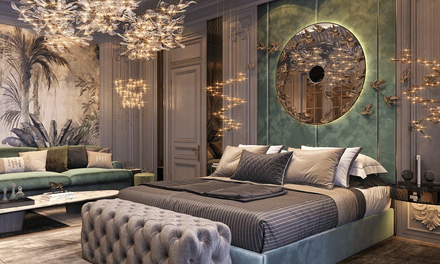 photo d'intérieur de chambre à la mode 49