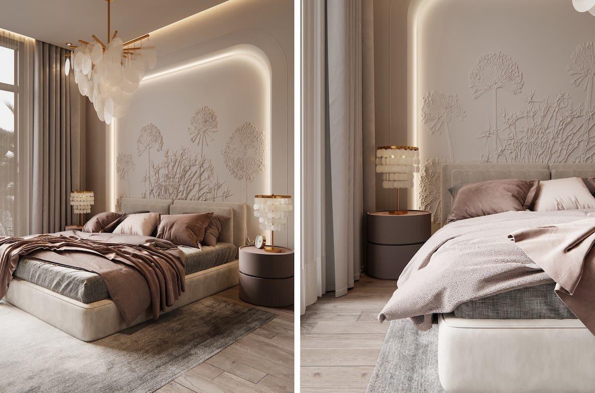 photo d'intérieur de chambre à la mode 46
