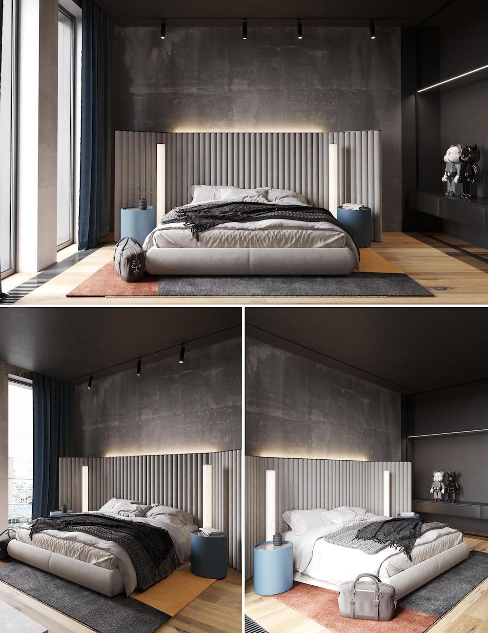 photo d'intérieur de chambre à la mode 21
