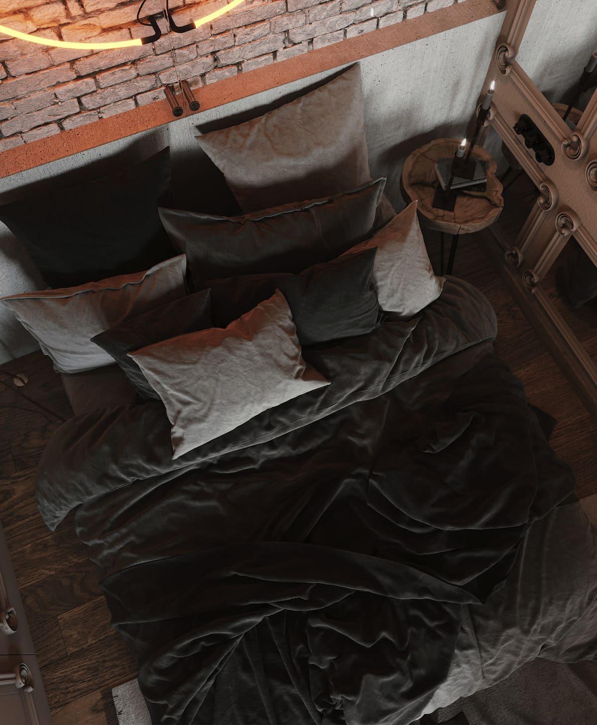 photo d'intérieur de chambre à la mode 20