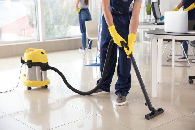 6 types courants de services de nettoyage commercial