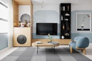 belle décoration d'intérieur d'appartement