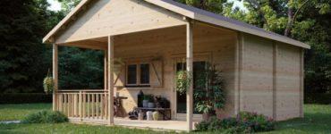 Le charme de la maison en rondins - maintenant dans l'industrie du préfabriqué