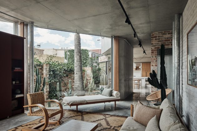 Maison Bismarck par Andrew Burges Architects à Sydney, Australie