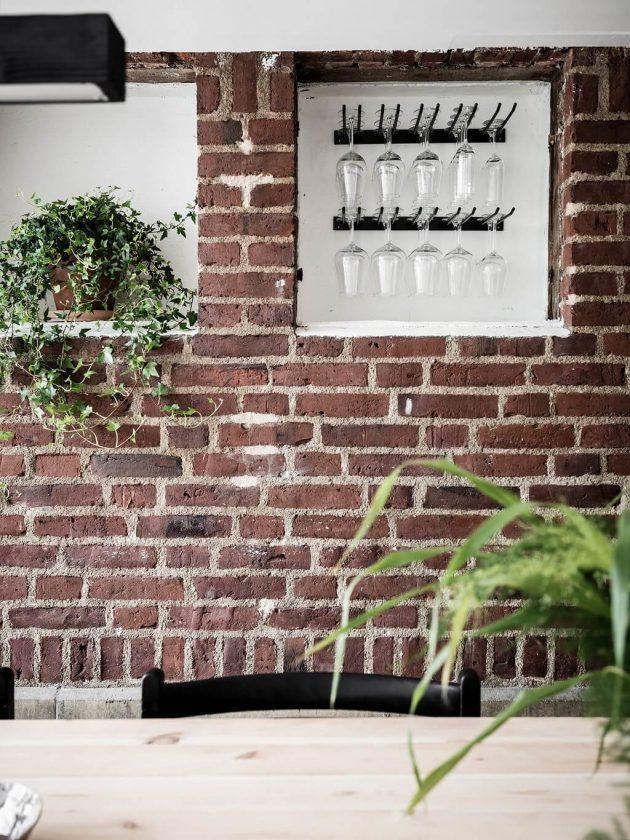Auriez-vous un mur de briques rouges dans votre maison ?
