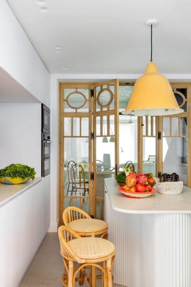 Atmosphère de maison élégante dans une maison de campagne madrilène
